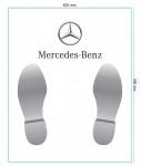 Protège tapis papier Mercedes