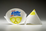 Filtres à peinture cône papier